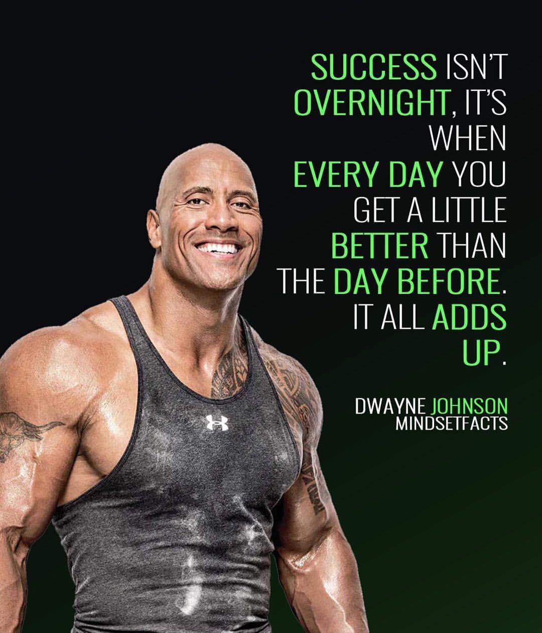 Dwayne Johnson Mindset Facts