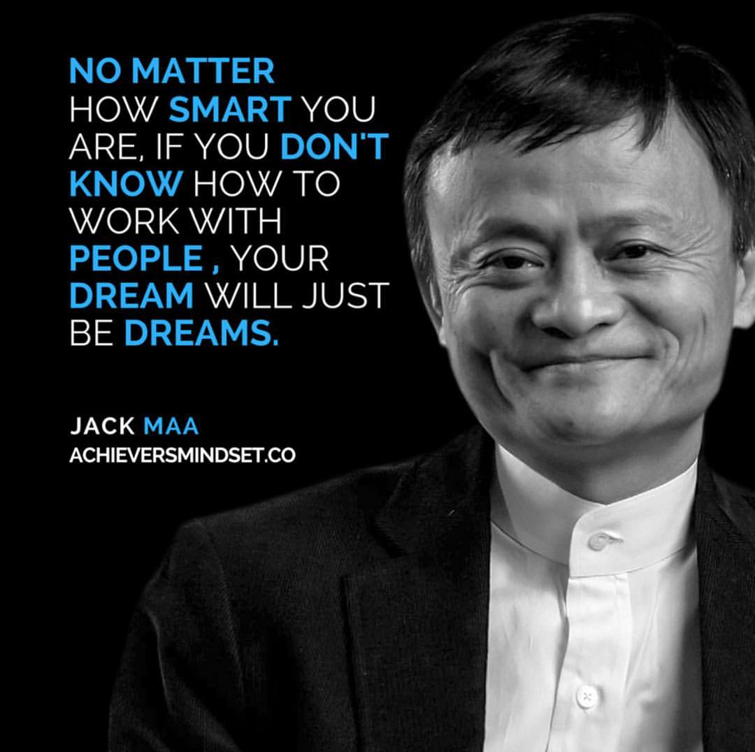 Jack Ma Quotes About People
