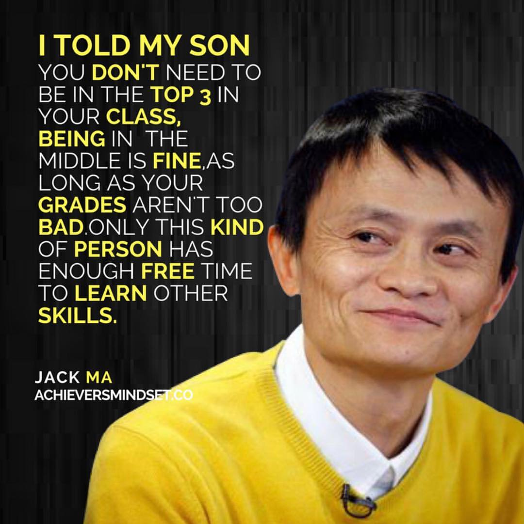 Jack Ma Achievers Mind Set