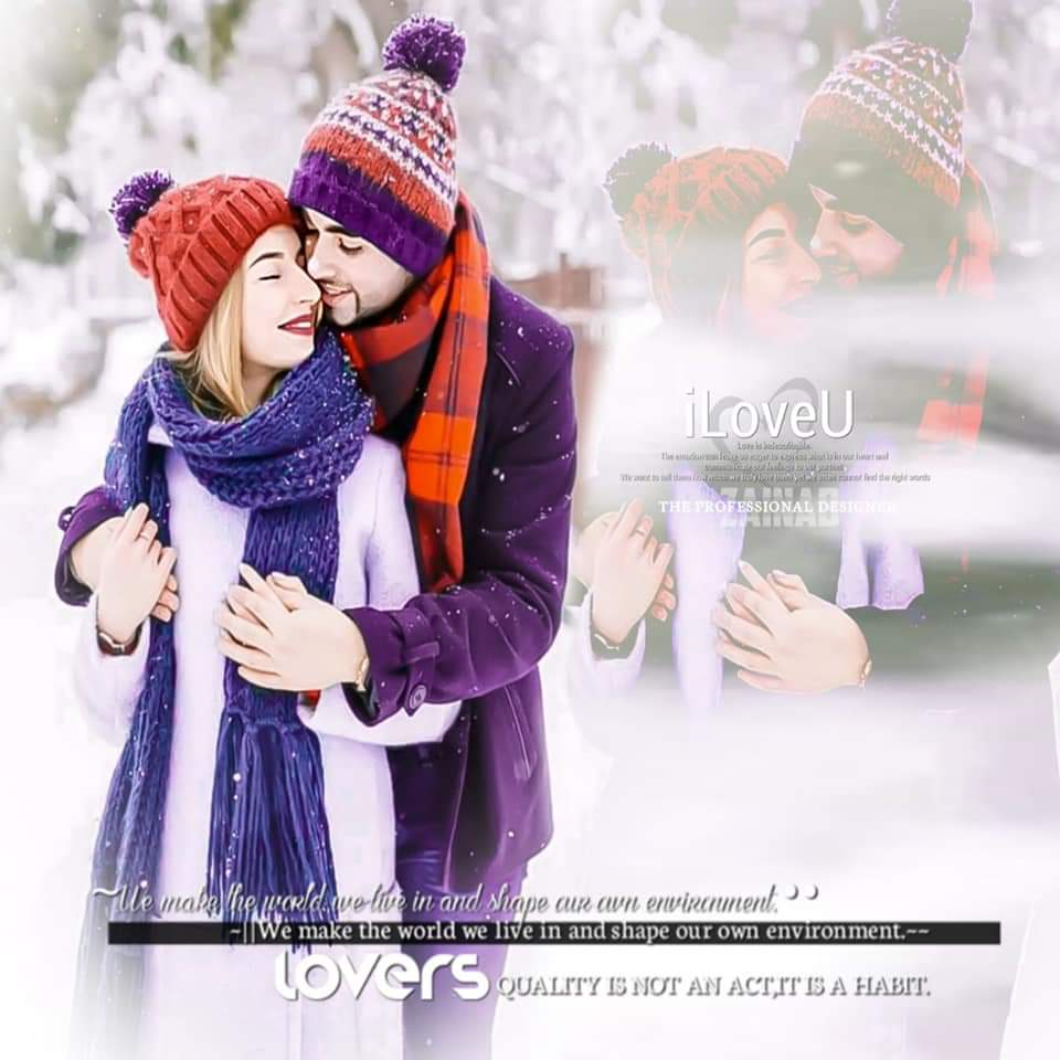 Teen Couple In Love