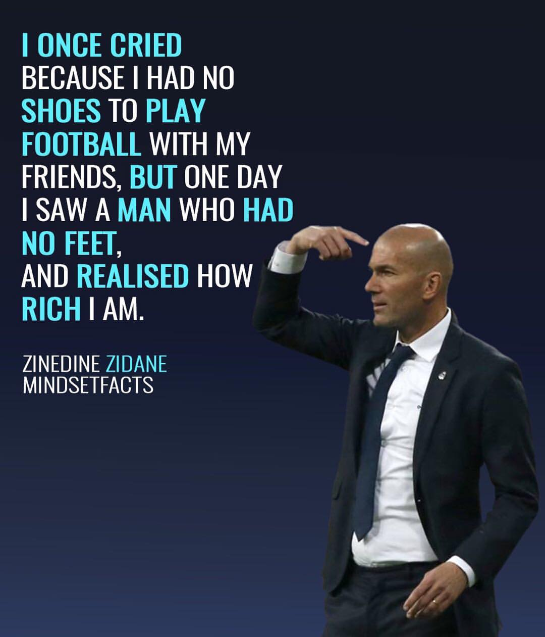 Zinedine Zidane Mindset Facts