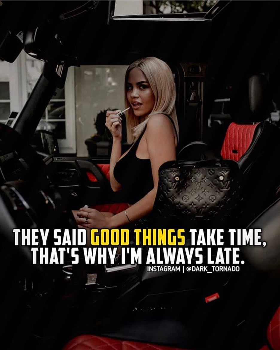 Always Late Quote