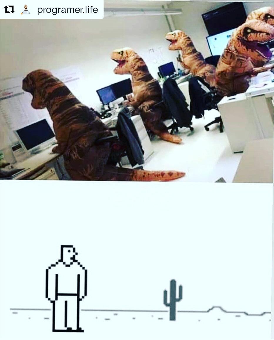 Dinosaur Meme