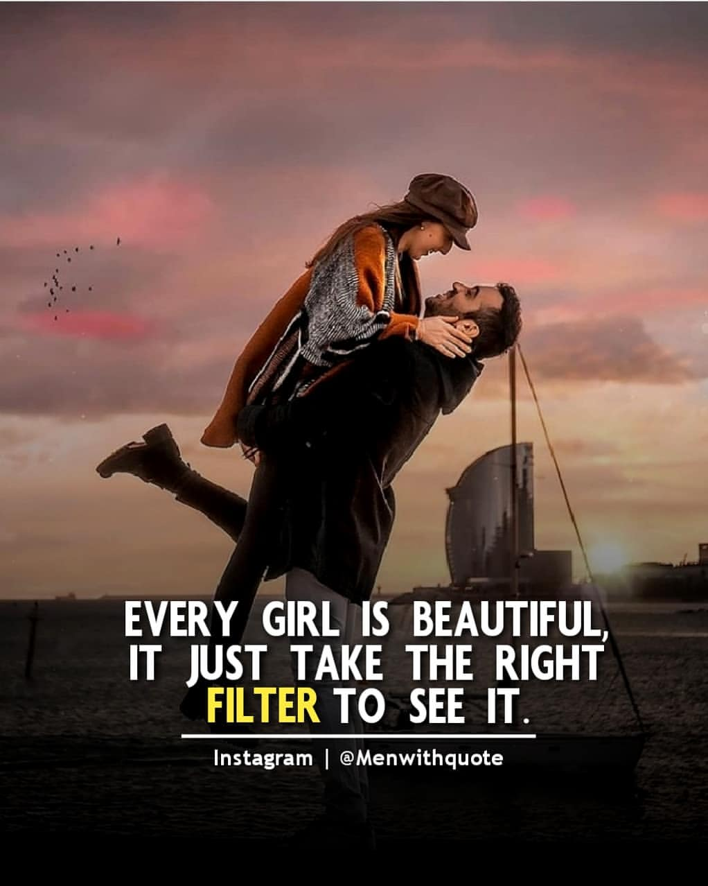 Boy Lifting Her Girl HD Wallpaper