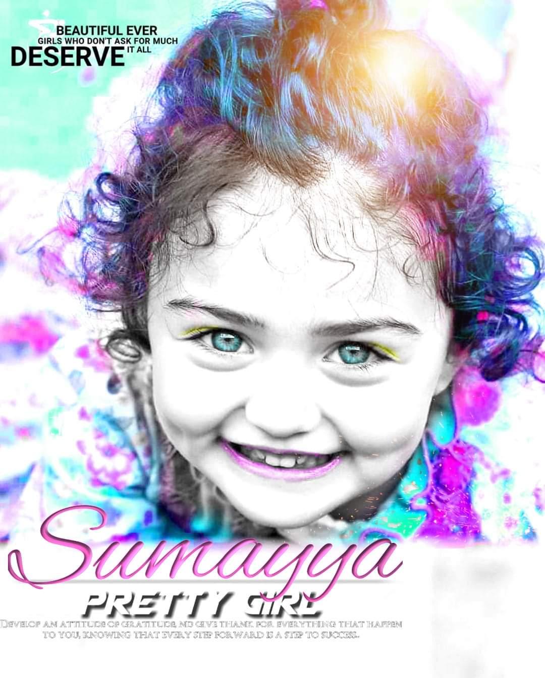 Dp With Name Sumayya
