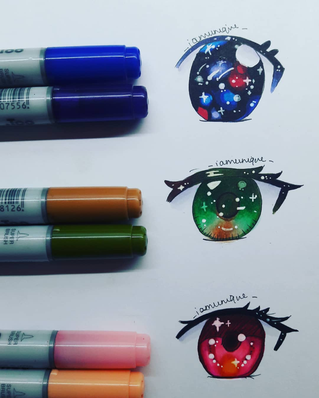 Anime Artwork Eyes