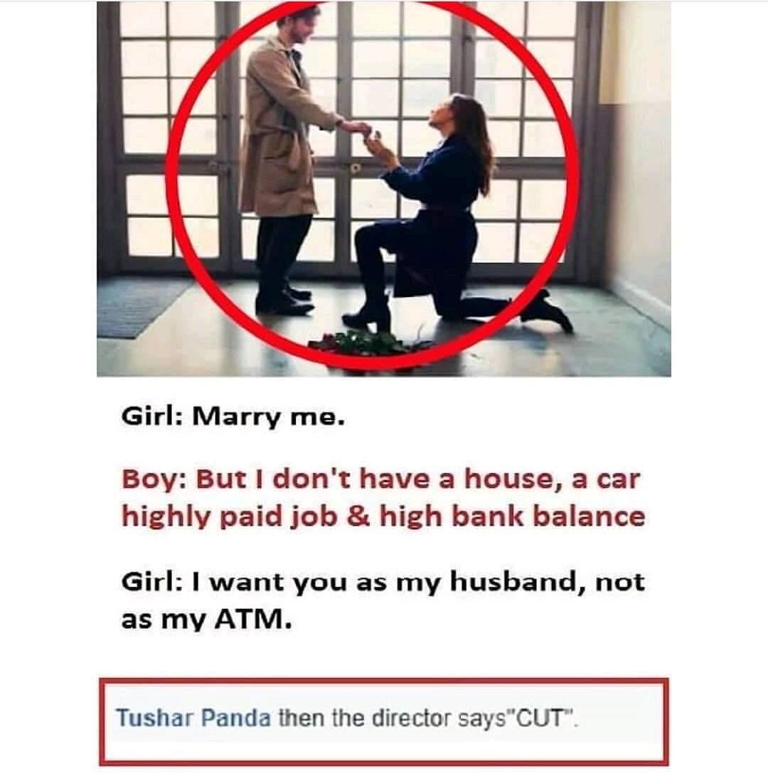Funny Purpose Meme Boy Girl