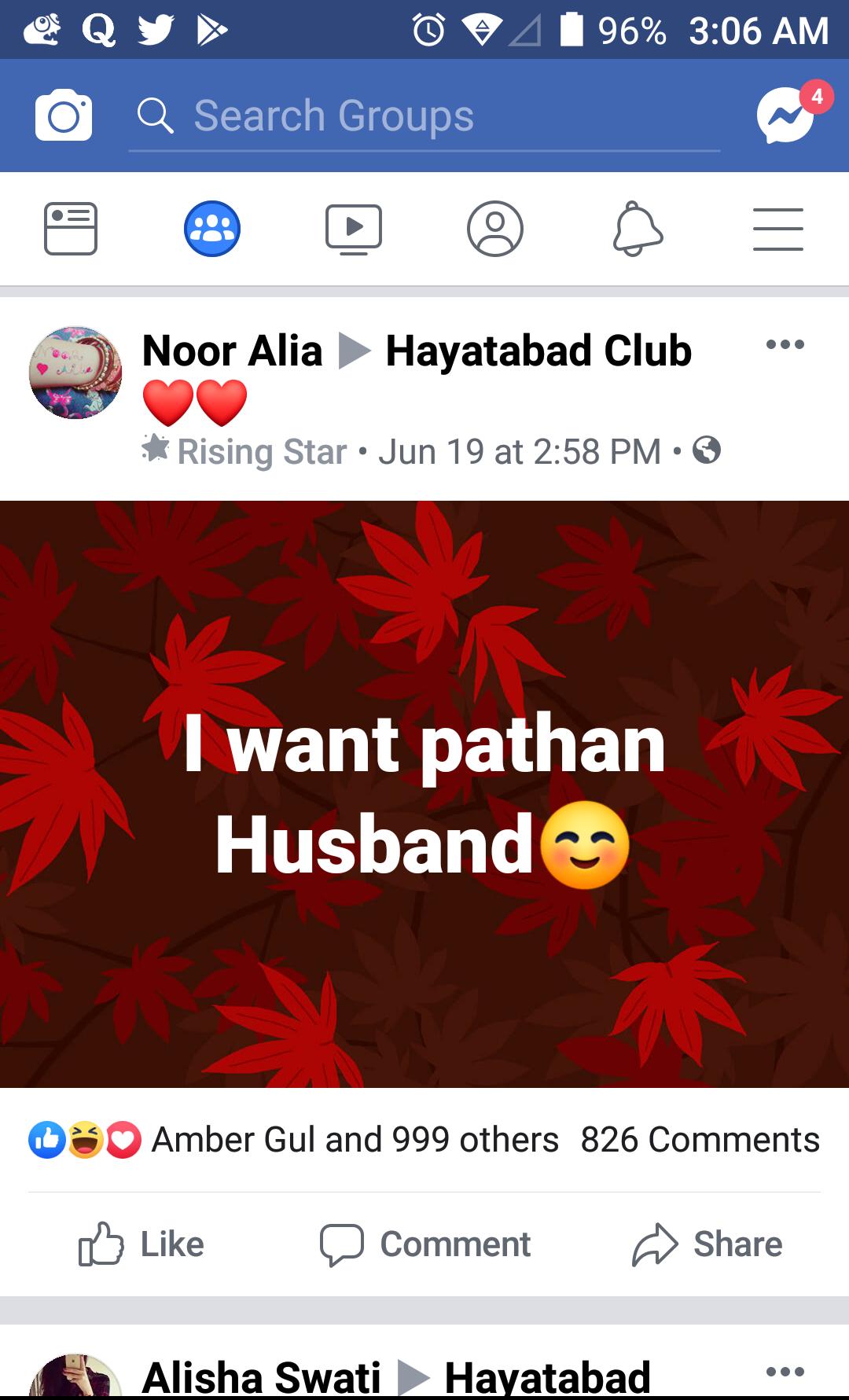 Pathan Facebook Meme