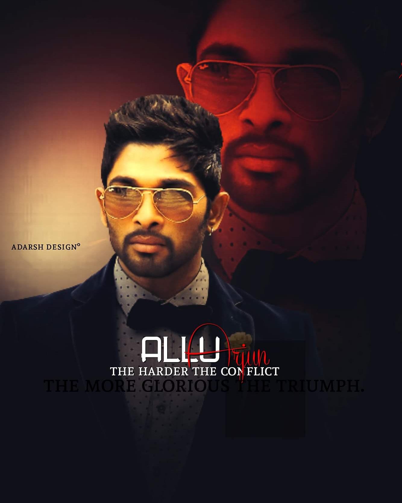 Dp With Name Allu Ayan