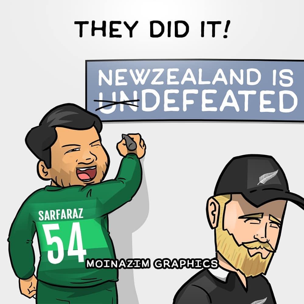 Newzealand Pakistan Comic