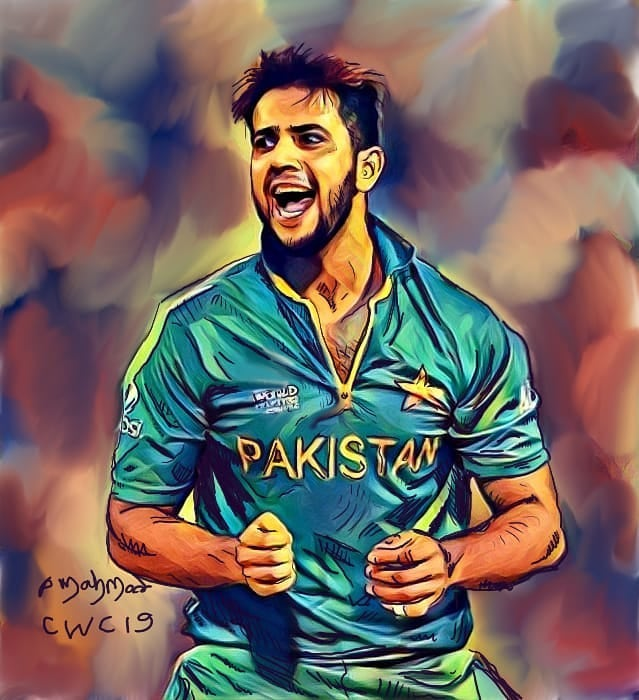 Pakistani Cricket Art Wallpaper