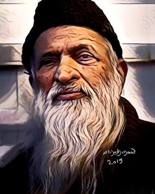 Abdul Sattar Edhi Art Pic