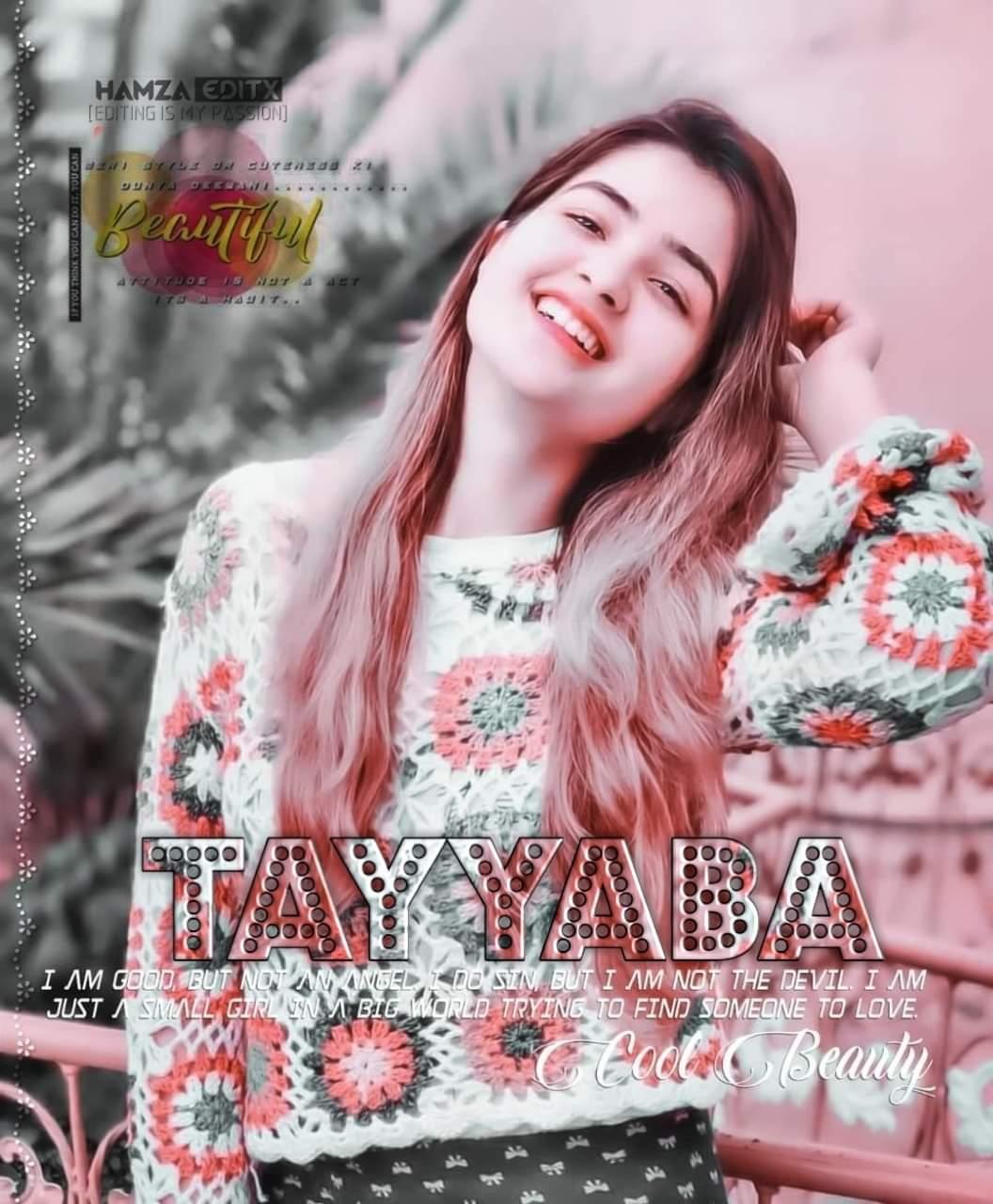 Cute Girl Dp With Name Tayyaba
