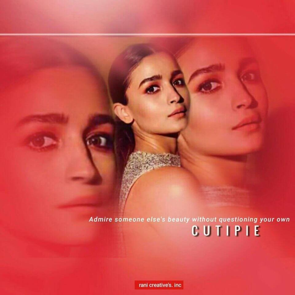 Beautiful Alia Bhatt Facebook Edit Picture