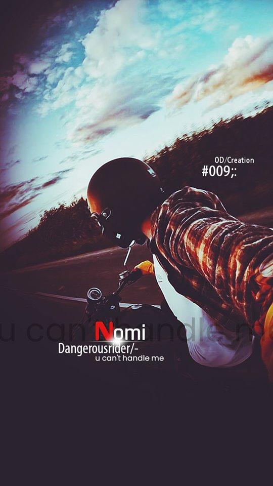 Nomi Bike Rider Wallpaper