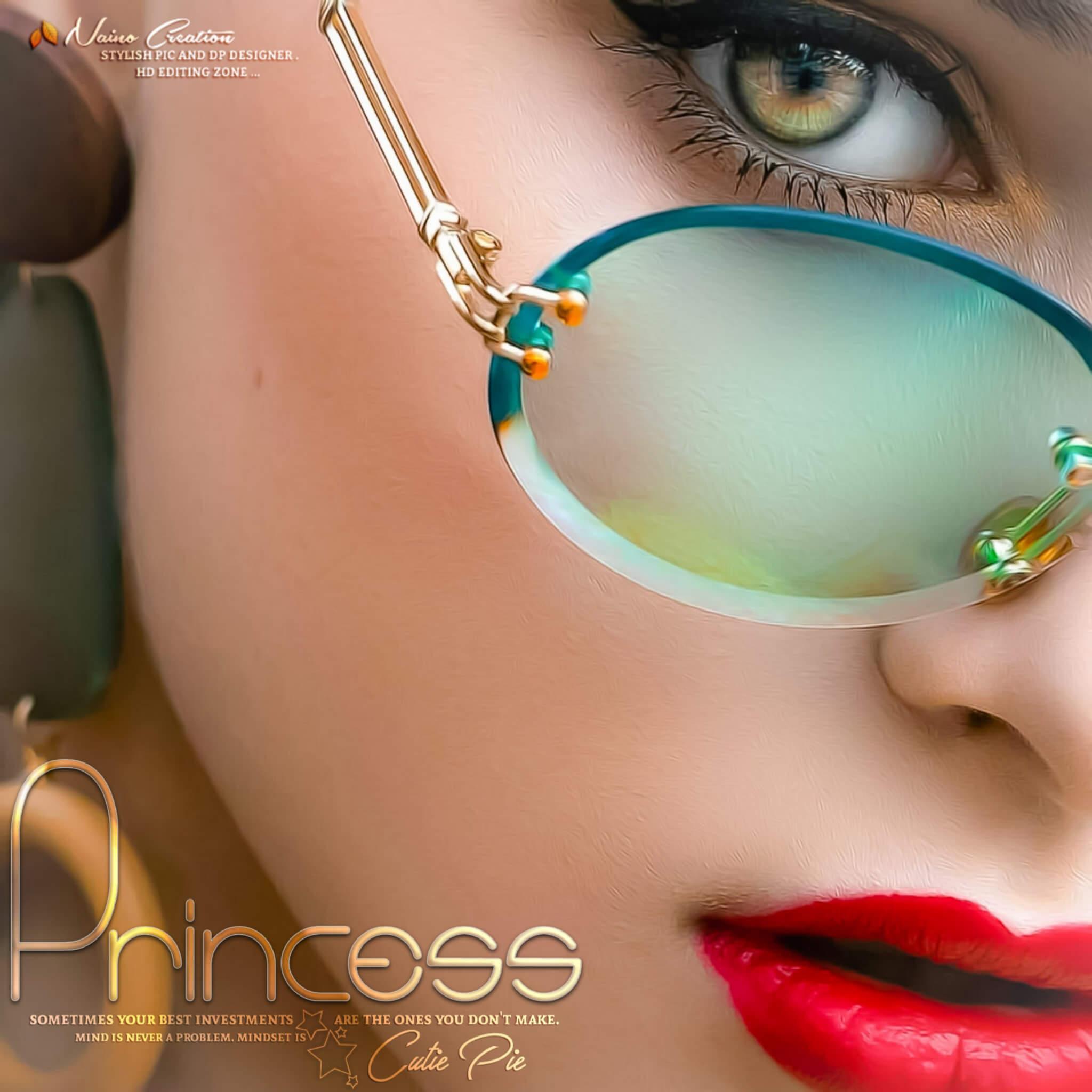 Princess Name Closeup Photo