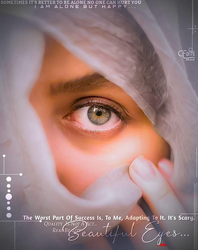 Whatsapp Girl Eyes Dp
