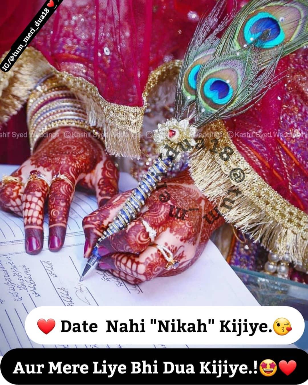Girl Nikkah Photo