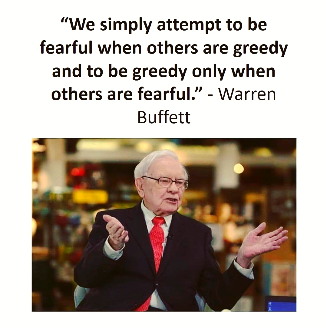 Warren Buffet Quote Of The Day
