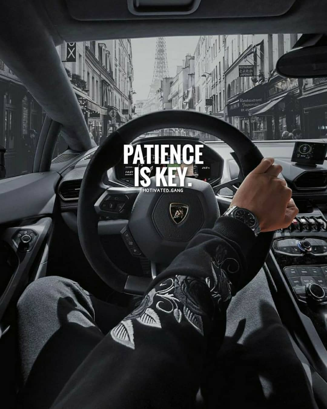 Patience Is The Key For Anything