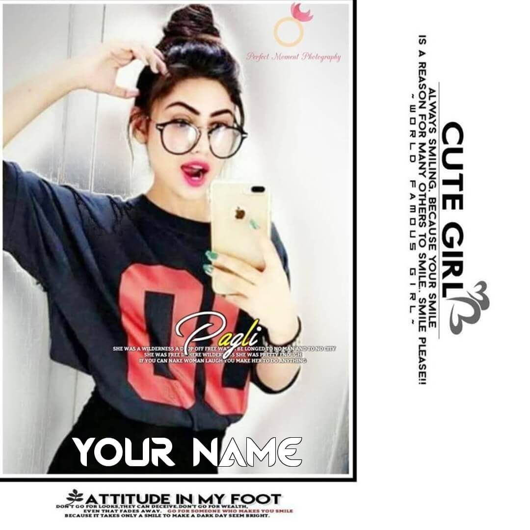 Free Stylish Attitude Girl Dp To Use For Social Profile