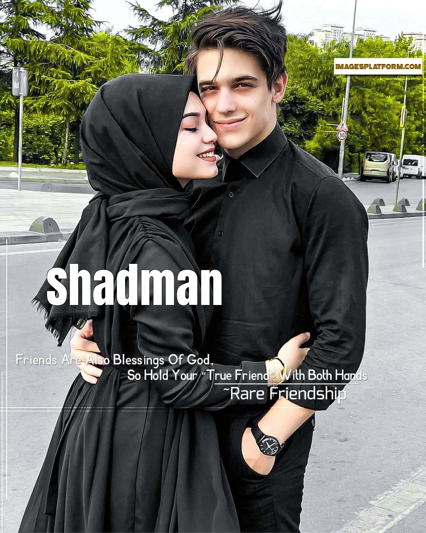 Muslim Couple Dp With Name Shadman I am peer abdul a muslim astrologer. muslim couple dp with name shadman