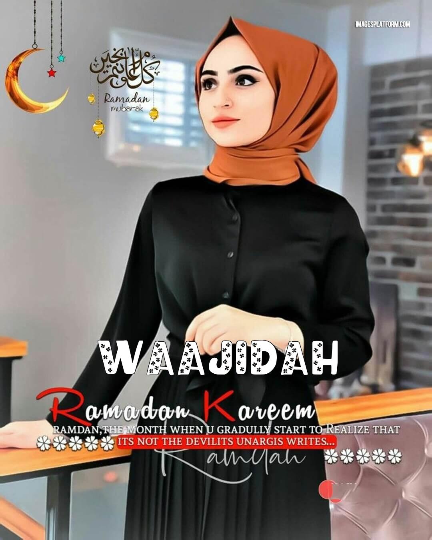 Ramadan Mubarak Dp With Name